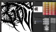 Time Lapse Creating A Death Metal/deathcore Logo 2014