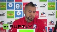 Chile: Juventus player Vidal breaks down in tears after Ferrari crash