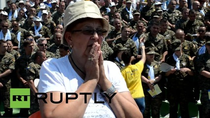 Bosnia and Herzegovina: Pope Francis calls for peace as he holds mass in Sarajevo