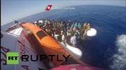 Italy: Over 4,500 refugees & migrants picked up in Med