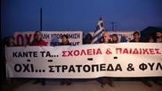 Greece: Protesters decry refugee hotspot near Thessaloniki