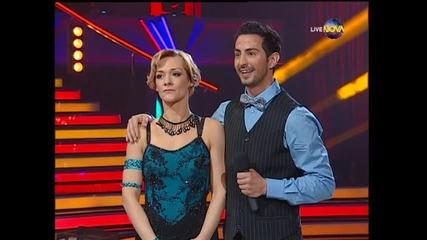 Dancing Stars - Албена Денкова и Калоян - куикстеп (01.04.2014 г.)