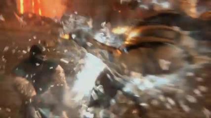 Mortal Kombat 9 - Kratos story trailer [hd]