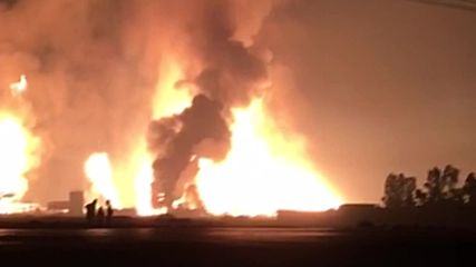 Iran: 3 injured after gas pipeline explodes in Genaveh