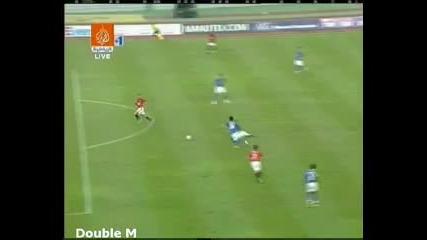 Малайзиан Xi - Манчестър Юнайтед 2:3 победен гол на Майкъл Оуен 18.07