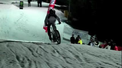 Красота - Borovets winter bike (duel 2012)