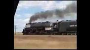 Парен локомотив Вig Boy 3985 на U.s.union Pacific