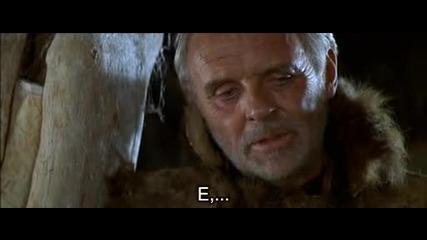 """Сцената с Горската Вила във филма """"острието"""" ( The Edge ) от 1997 г. - с Български Субтитри H.d.t.v"""