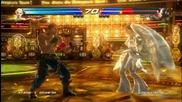 Angel and Kunimitsu Gameplay - Tekken Tag Tournament 2