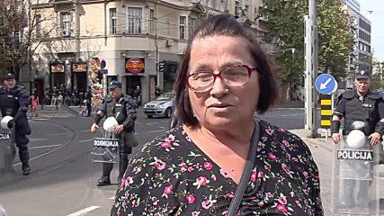 Serbia: Anti-LGBT protesters oppose Pride parade in Belgrade