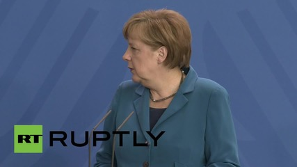 """Меркел: """"Чехия и Германия трябва да работят заедно за споразумението от Минск."""""""