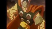 Големите анимации Хълк срещу Тор (2009) и Хълк срещу Върколак (2009)