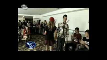 Смях С Всичко Ми Е Наред В Music Idol 3