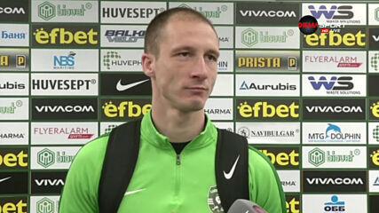 Недялков: Треньорът внесе самочувствие и увереност, които ни липсваха
