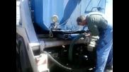 Подготовка на цистерната за миене