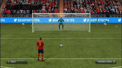 Penalty Battle ep.1 Spain vs Germany [fifa 13]
