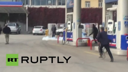 Turkey: Police unleash water cannon and tear gas on HDP delegation in Silvan