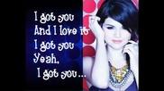 New! Selena Gomez and The Scene - I Got U + Lyrics