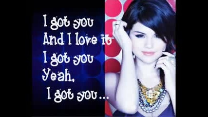 New! Selena Gomez and The Scene - I Got U + Lyrics