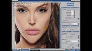 Ето Как Се Прави Фотокарикатура С Фотошоп cs2 - Анджелина Джоли