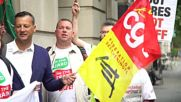 England: RMT union members rail at 'govt. interference' as strike rolls on