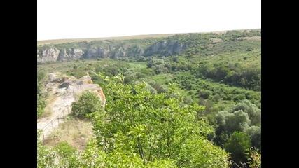 Панорама - каньона на река Русенски Лом