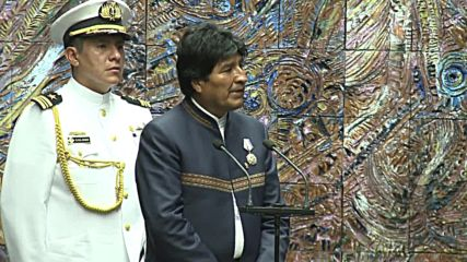 Cuba: Castro awards Evo Morales with highest state medal for commitment to struggle