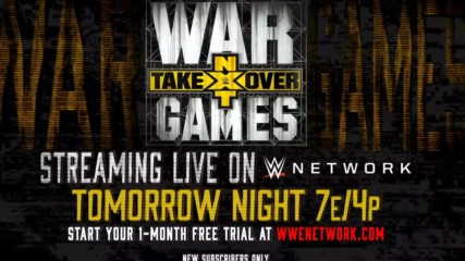 Battle lines are drawn tomorrow at NXT TakeOver: WarGames II