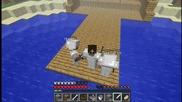Minecraft-survival [в Nether] еп.12 Със theddy, vencopenco и Sixtysix
