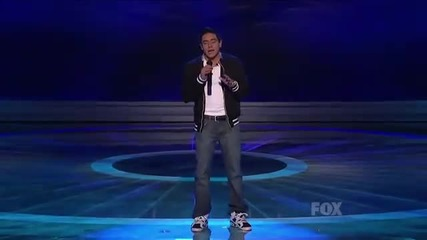 Невероятно изпълнение !! Stefano Langone - I Need You Now (american Idol )