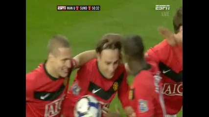 Man Utd 1 - 1 Sunderland - D. Berbatov