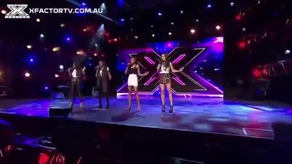 Жестоки! X-factor Австралия 2013