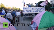 Moldova: Thousands flood anti-govt protest camp in Chisinau