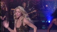 Шакира в Шоуто на David Letterman изпълнява Loca