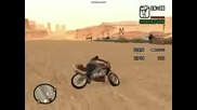 Moto com manobras iradas no Gta San Andreas