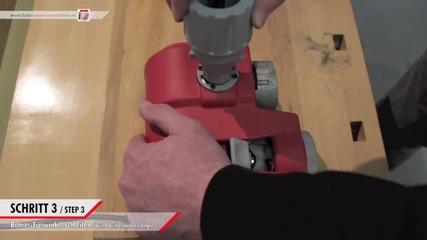 Заточваща машина за бургии. www.holzmannbg.com