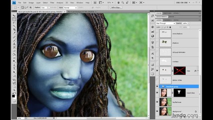 Photoshop Top 40, Feature #02 - The Layers Palette