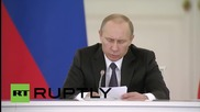 Russia: Putin outlines goals to boost entrepreneurship in Russia