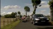 Най - Неочакваното падане в 9тия етап на Tour De France