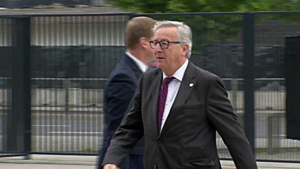 Делегатите пристигат за втория ден на срещата на НАТО
