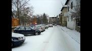 Снегът в Сандански- всяко чудо за три... часа