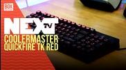 NEXTTV 020: Unboxing: CM Storm Quickfire TK Red