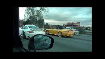 R35 Gtr vs Ferrari 599 Gto vs 996tt vs Awe 997tt