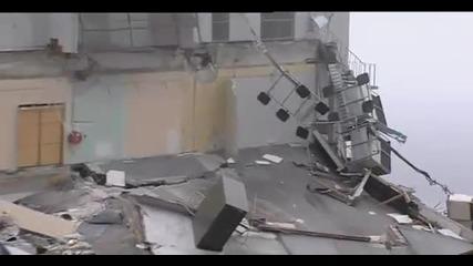 Земетресение удря Christchurch, New Zealand