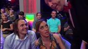 Dancing Stars - Мария Илиева и Деян Ангелов подкрепят Дарин и Ани (29.05.2014)