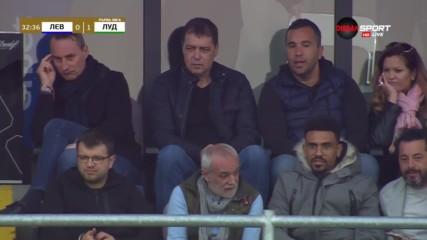 Петър Хубчев на дербито Левски – Лудогорец