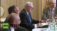 Austria: FM Lavrov and FM Zarif lead Iran nuclear talks on deadline day