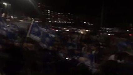 UK: Fans lose the plot, Leicester City win the league