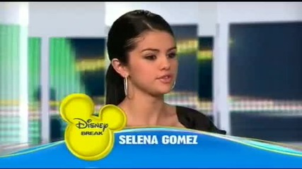 Selena Gomez - Disney Break (nrj12) (april 01 2010)