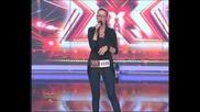 Неизлъчвано до сега Диана Гаджонова в X-factor